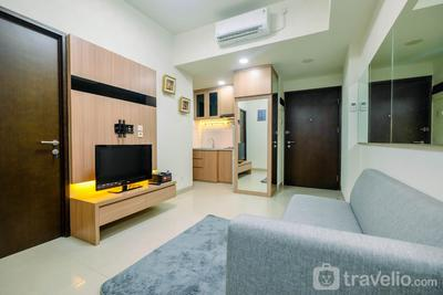 Spacious 1BR Apartment with Working Room at Mustika Golf Residence By Travelio