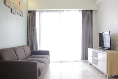 Modern & Deluxe 2BR at Braga City Walk Apartment By Travelio