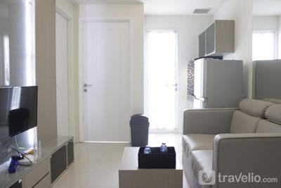 Chic and Comfy 2BR Apartment at Parahyangan Residence near UNPAR By Travelio