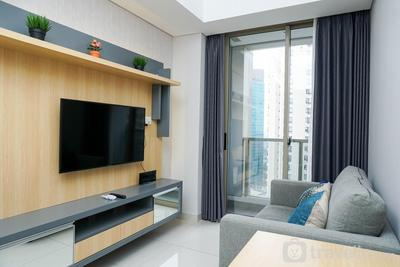 Strategic and Comfy 2BR Apartment Taman Anggrek Residence By Travelio