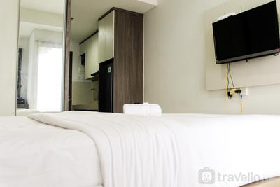 New Furnished City View Studio Apartment @ Springwood Residence By Travelio