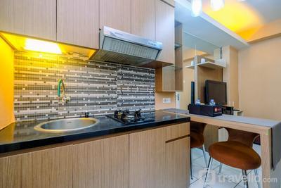 Strategic and Homey 1BR Kalibata City Apartment By Travelio