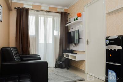 Cozy Room 1BR Gray Tower Sentra Timur Apartment By Travelio