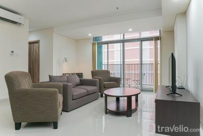 Luxury Combined Apartment Unit 3BR Pejaten Park Residence By Travelio