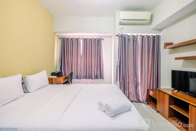 Simple and Homey Studio at Taman Melati Margonda Apartment By Travelio