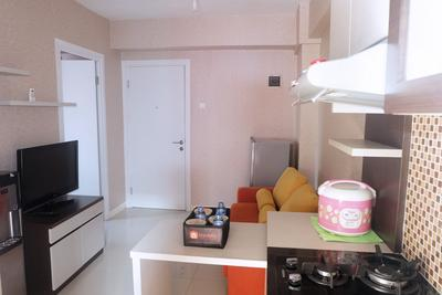 Good 2BR Apartment At Green Pramuka City By Travelio