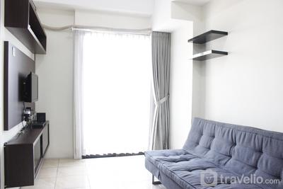 Simply 2BR Tamansari Panoramic Apartment near Gedebage Market By Travelio