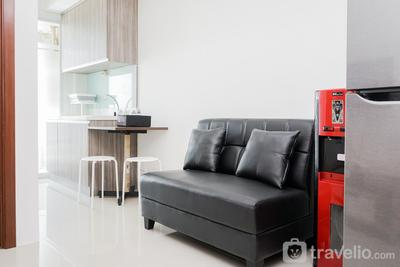 Comfortable 1BR Apartment at Vittoria Residence By Travelio