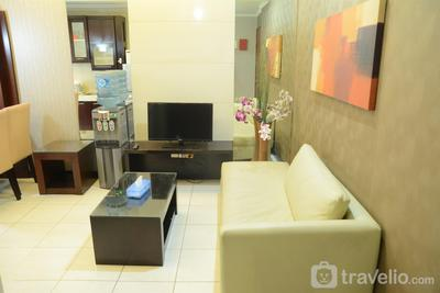 Cozy 2BR at Sudirman Park Apartment near to SCBD By Travelio