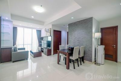 Fully Furnished with Luxury Design 2BR Apartment at Denpasar Residence By Travelio