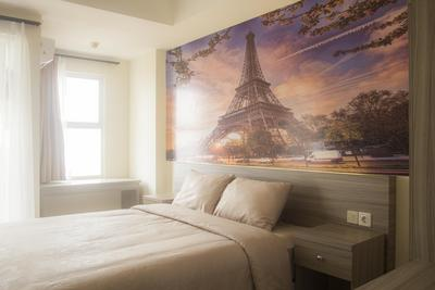 Dream of Paris Studio Room at Belmont Residence Apartment