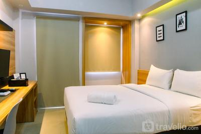 Modern and Comfy Studio (No Kitchen) @ Mustika Golf Apartment By Travelio