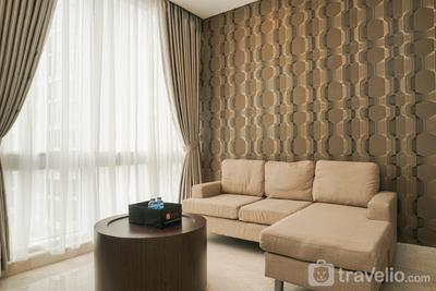 Comfortable and Beautiful 2BR at The Empyreal Apartment By Travelio