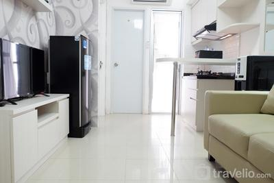 Exquisite 2BR Bassura City Apartment near Shopping Mall By Travelio