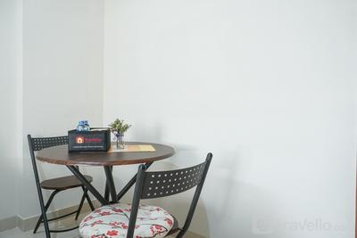 Fully Furnished Studio at Green Park View Apartment By Travelio