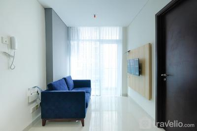 Minimalist Style 1BR @ Brooklyn Apartment Alam Sutera By Travelio