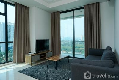 Spacious 3BR Apartment Veranda Residence @ Puri By Travelio