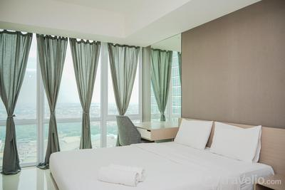 Cozy and Lovely Studio Apartment at U Residence Karawaci By Travelio