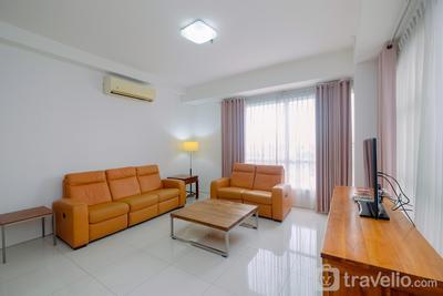 Spacious and Strategic 3BR One Park Gandaria Apartment By Travelio