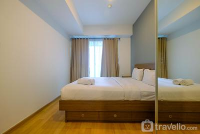 Strategic 1BR Casa Grande Apartment near Kota Kasablanka Mall By Travelio