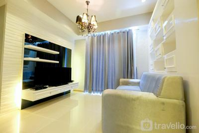 2BR with Study Room at Casa Grande Apartment By Travelio
