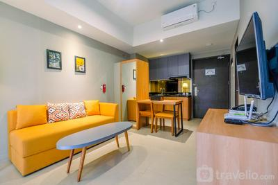 Luxury 1BR Apartment with Golf View at Mustika Golf Residence By Travelio