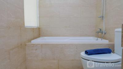 Best Choice 2BR Apartment at Menteng Park with Bathtub By Travelio