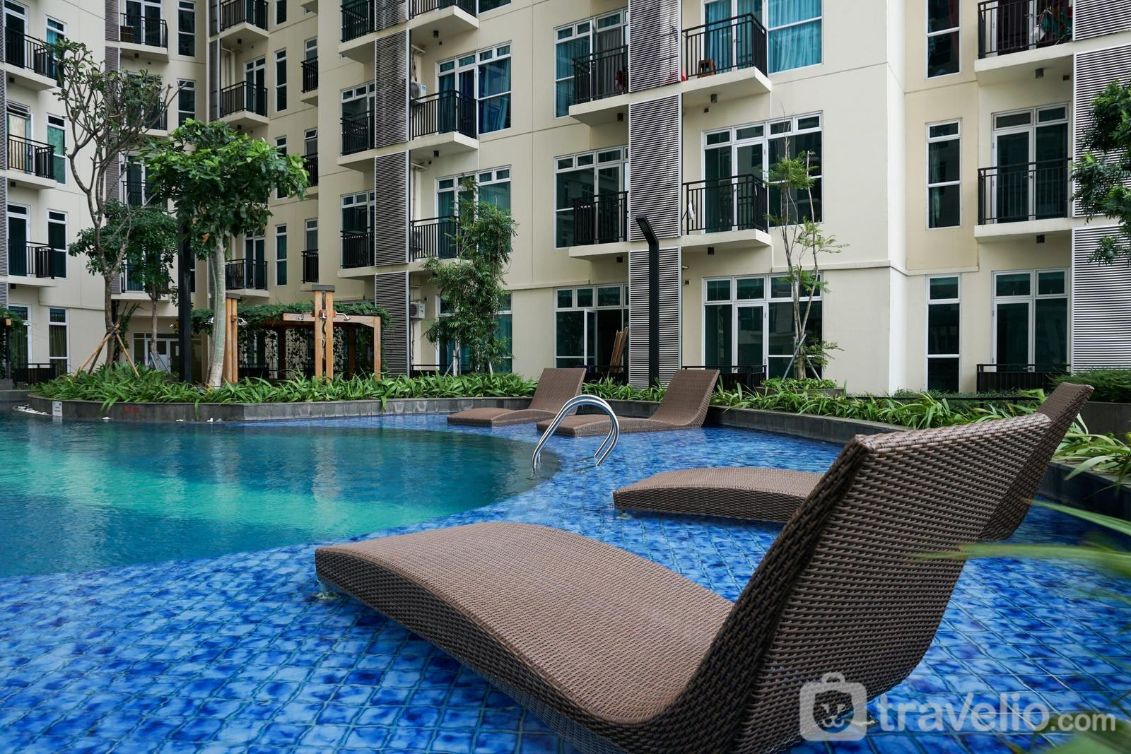 Apartemen Puri Orchard - Unfurnished 1BR 37th Floor Puri Orchard Apartment with AC By Travelio