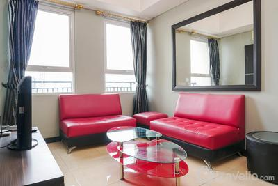 Best 2BR with Prime Location at MT Haryono Square Apartment By Travelio