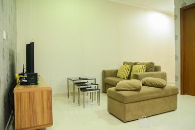 1BR Apartment @ Sahid Sudirman Residence Located in Jakarta's CBD By Travelio