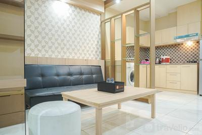 Strategic 1BR The Boulevard Apartment with Luxurious Design By Travelio