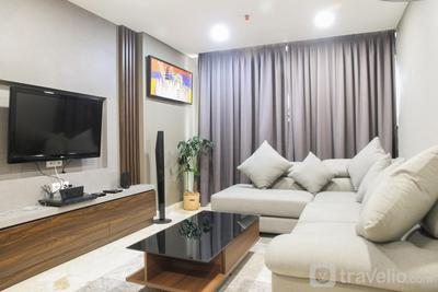 Modern and Posh 2BR The Empyreal Condominium Apartment By Travelio