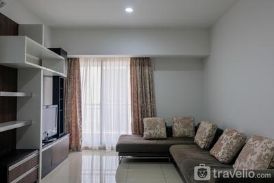 Homey 2BR Apartment at Serpong M-Town Signature By Travelio