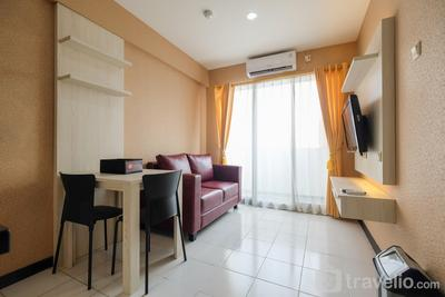 Homey 2BR Apartment @ Sentra Timur Residence By Travelio