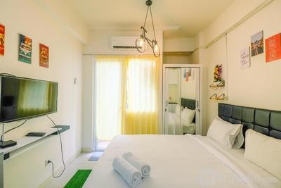 New Room Studio at Green Pramuka Apartment By Travelio