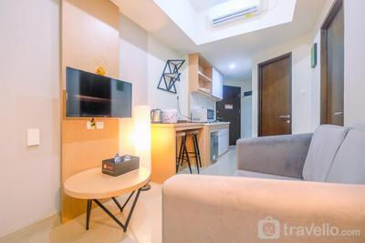 Comfort 1BR Apartment at Mustika Golf Residences By Travelio