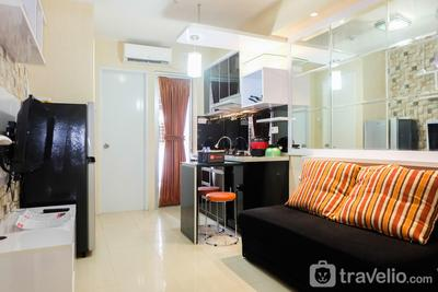 Modern 2BR with City View at Bassura Apartment By Travelio