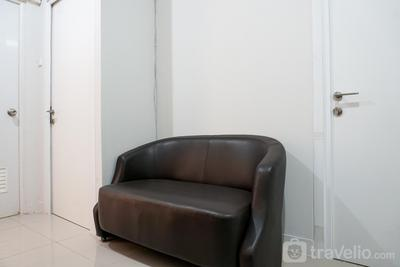 Tranquil Green Pramuka 2BR Apartment near Shopping Center By Travelio