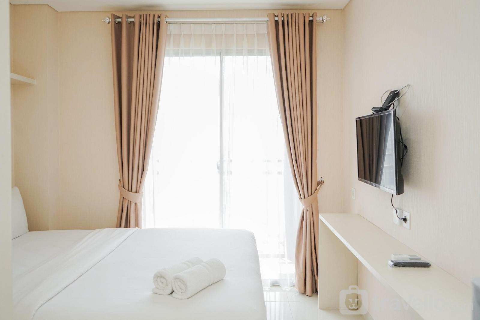 Apartemen Springwood Residence Tangerang - Minimalist and Relaxing Studio Apartment at Springwood Residence By Travelio