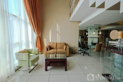 Spacious 1BR Two-Level Apartment at CityLofts Sudirman By Travelio