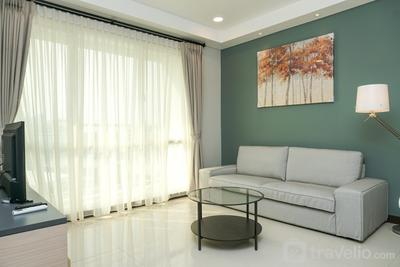 Cozy 4 Pax 2BR Apartment at Gallery West Residence By Travelio