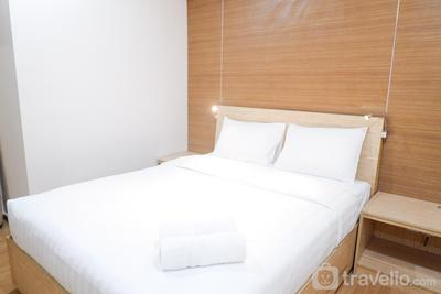 1BR Casa Grande Apartment with Sofabed Connected to Kota Kasablanka By Travelio
