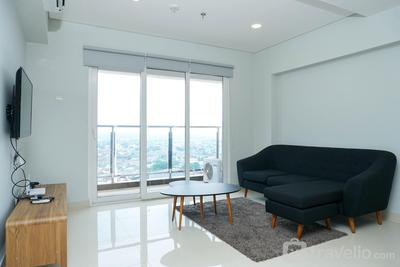 3BR Spacious Loft Apartment at Maqna Residence By Travelio