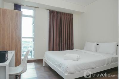 New Furnished with City View at Studio Puri Orchard Apartment By Travelio