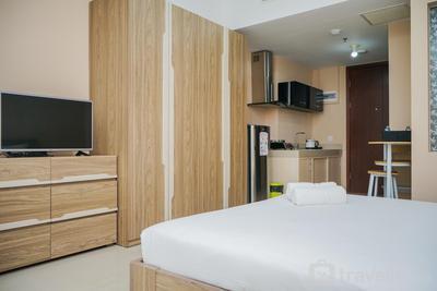 Minimalist Studio Apartment at U Residence By Travelio