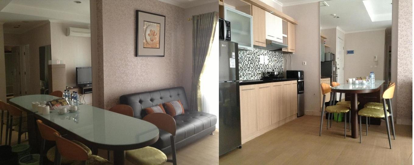 MOI Kelapa Gading - 2 BR Deluxe Sanfransisco Bay @ Maxwell Sweet Apartment By Agoes