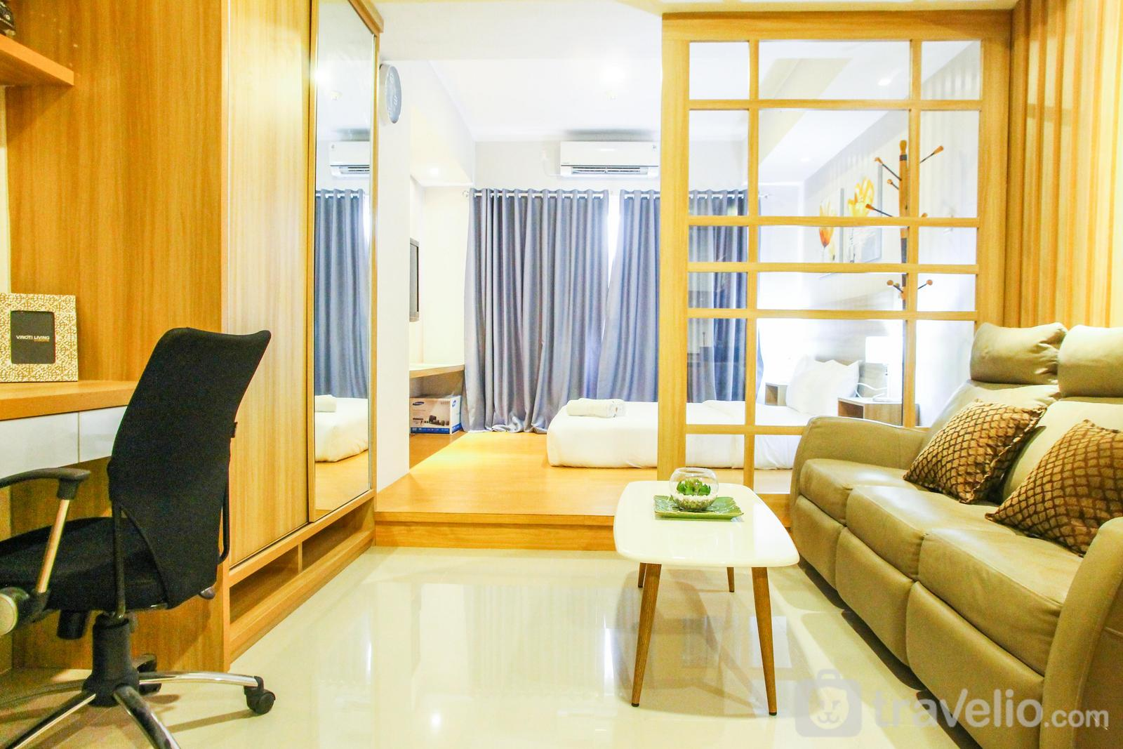 The Oasis Cikarang - Scandinavian Japanese Style Studio The Oasis Apartment By Travelio