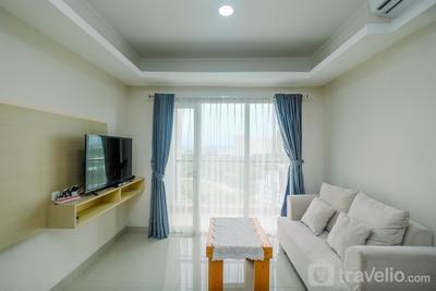 Comfortable and Spacious 2BR at Oasis Cikarang Apartment By Travelio