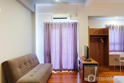 Spacious Studio Apartment at Grand Center Point By Travelio
