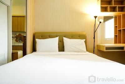 Simply Furnished and Comfy Studio @ Pakubuwono Terrace Apartment By Travelio